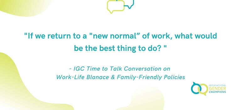 Champions Discuss Work-Life-Balance and Family-Friendly Policies