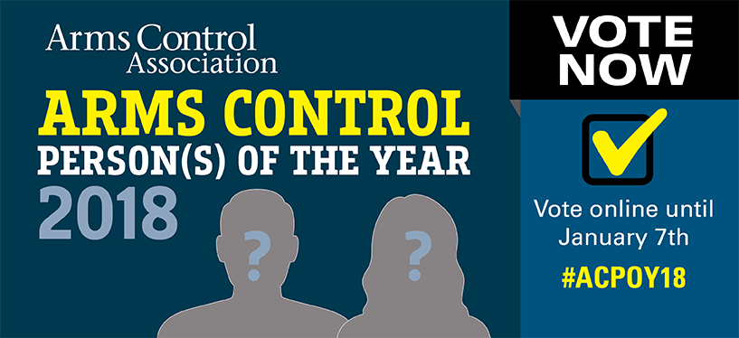 IGC-Disarmament Impact Group is nominated as Arms Control Person(s) of the Year!