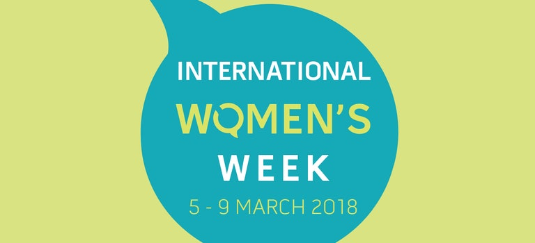 International Women's Week is coming up soon!