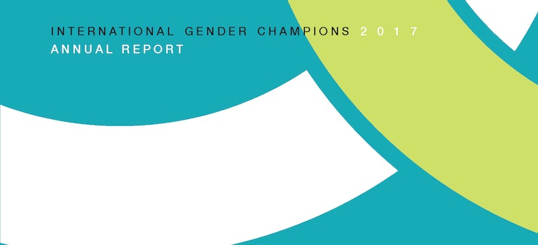International Gender Champions 2017 Annual Report is out