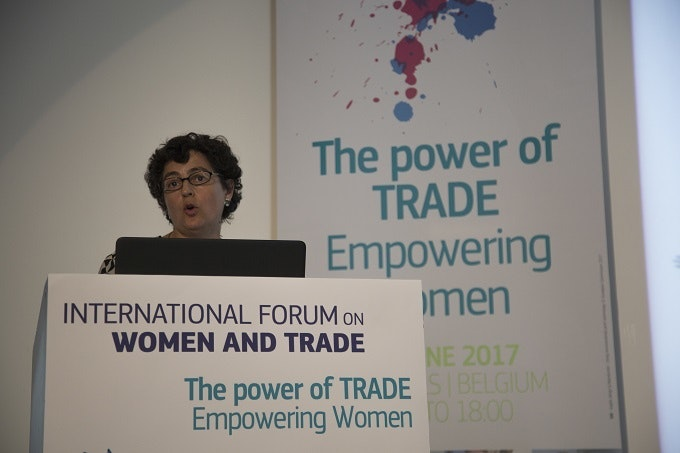 International Forum on Women and Trade - ITC Executive Director Arancha González wants to reshape trade policies to close the gender trade gap