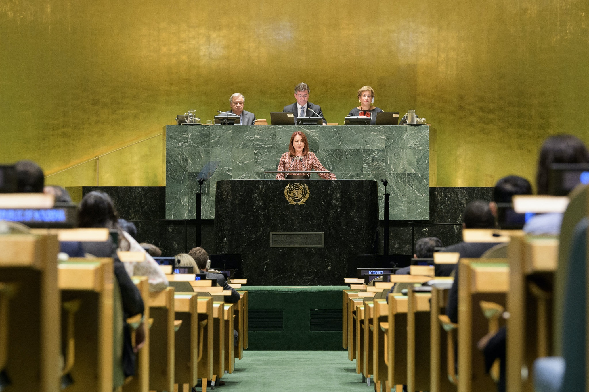 73rd President of the UN General Assembly, María Fernanda Espinosa Garcés, becomes an International Gender Champion