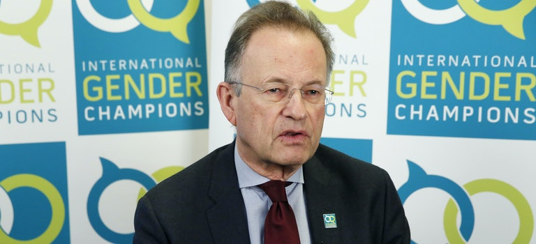 Gender Champion Michael Møller launches a campaign against casual sexism at UN Geneva