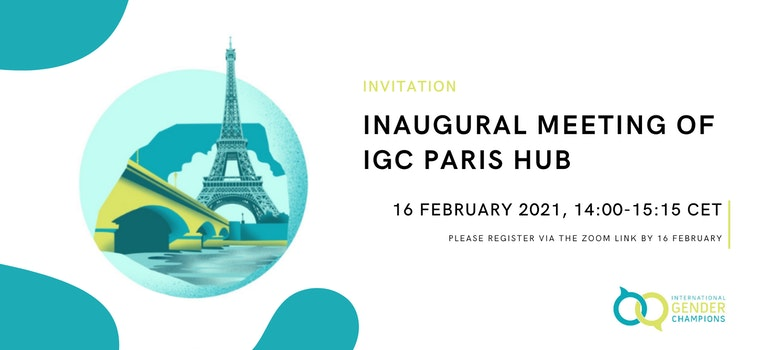 The IGC Paris Hub's Inaugural Champion-Level Event