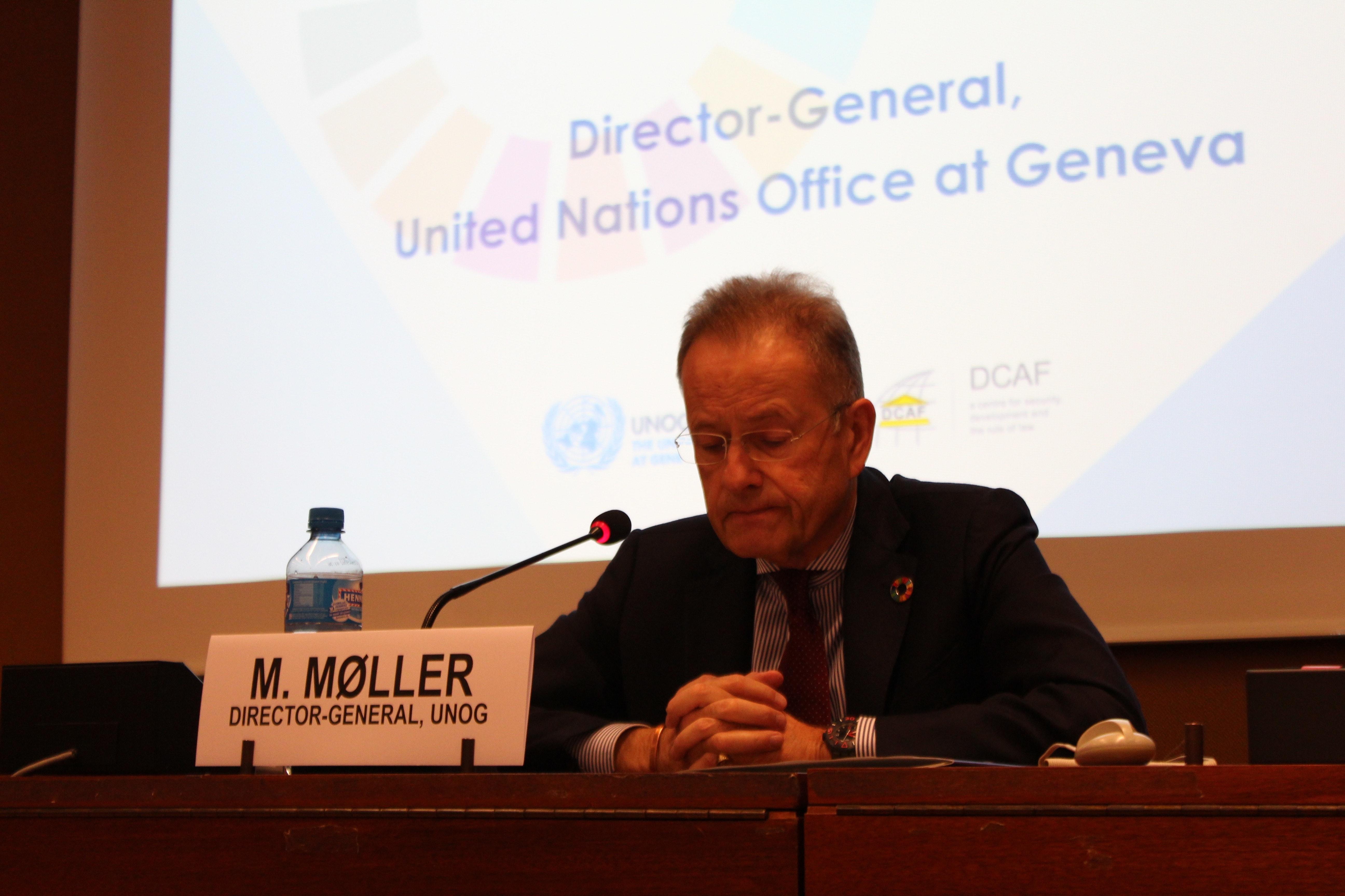 Blog by Champion Michael Møller - Leveraging SDG 16 to improve implementation of SDG 5