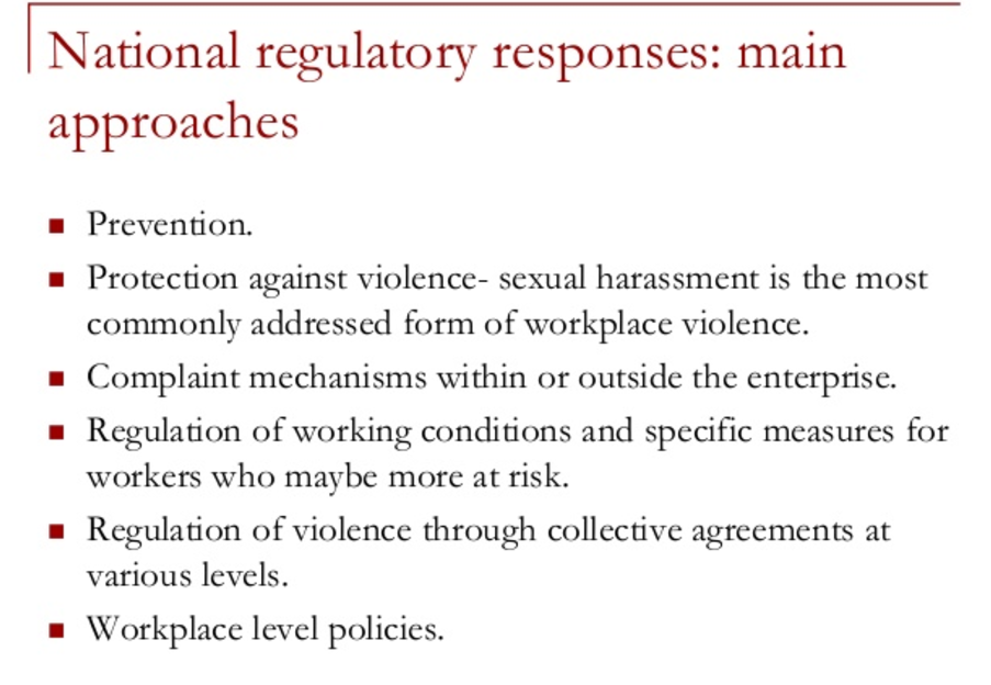 ILO Violence in the Workplace Treaty   What is it?  Why could it be a potential game changer?