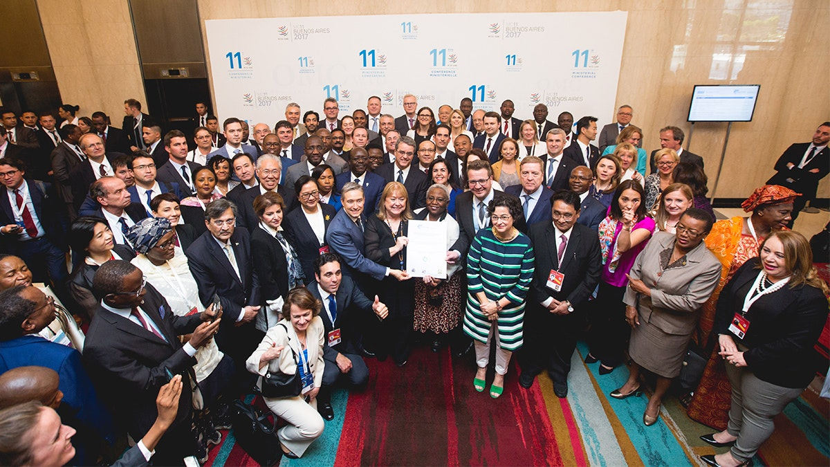 Buenos Aires Declaration on Women and Trade announced at WTO Ministerial Conference
