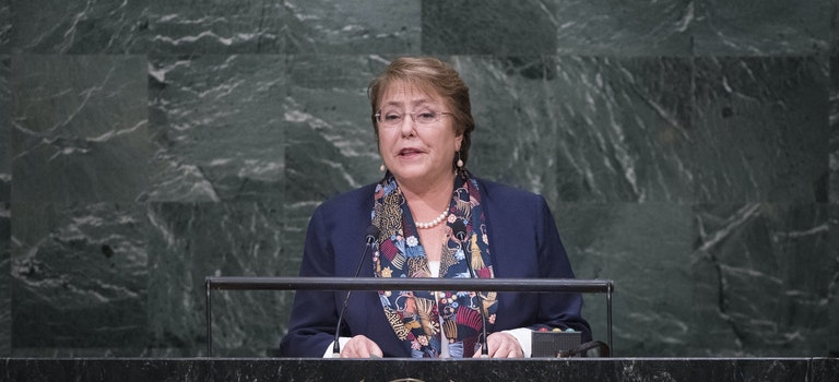 IGC congratulates Champion Michelle Bachelet on her appointment as UN High Commissioner for Human Rights!