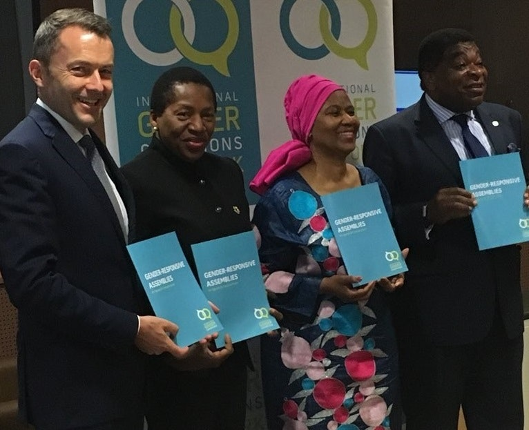 IGC's Gender-Responsive Assemblies Toolkit - An agenda for concrete action - launched at UNGA