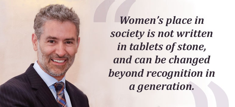 Blog by Champion Julian Braithwaite: What can the United Nations learn from the women who've made it?