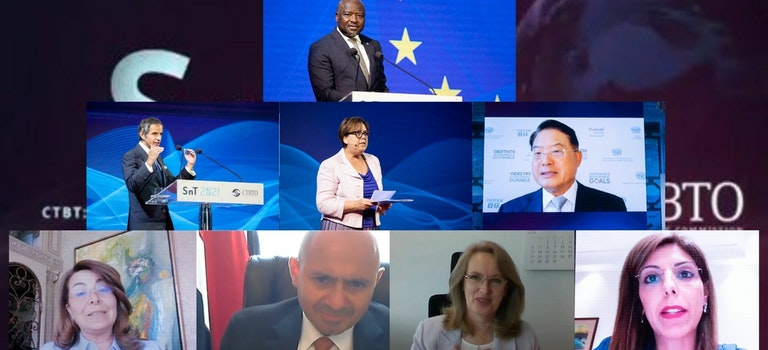 Vienna-based International Gender Champions at the CTBTO Science and Technology 2021