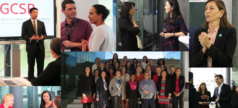 Blog by Champion Christian Dussey - Supporting mid-career female leaders to develop strategies for career success