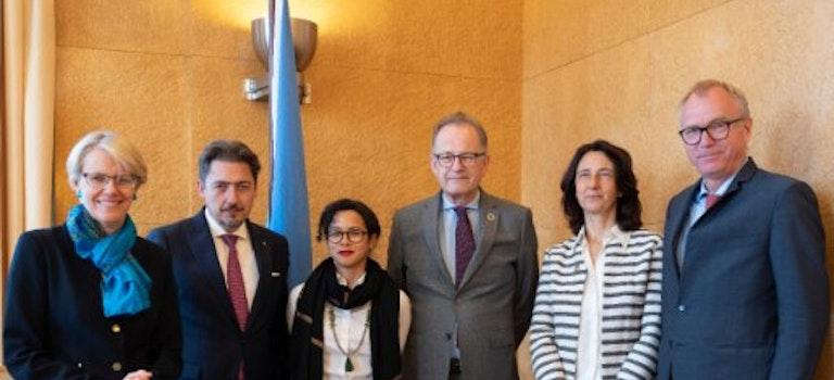 Livre Bleu ONU : Les titres diplomatiques en français seront féminisés
