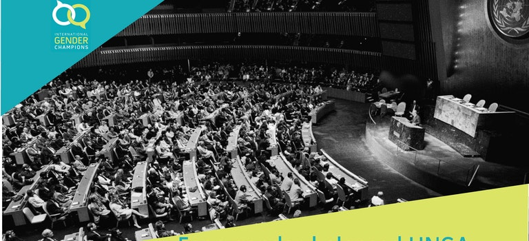 Gender Champions call for a gender-balanced United Nations General Assembly