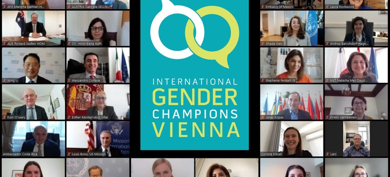 Vienna-based International Gender Champions meeting