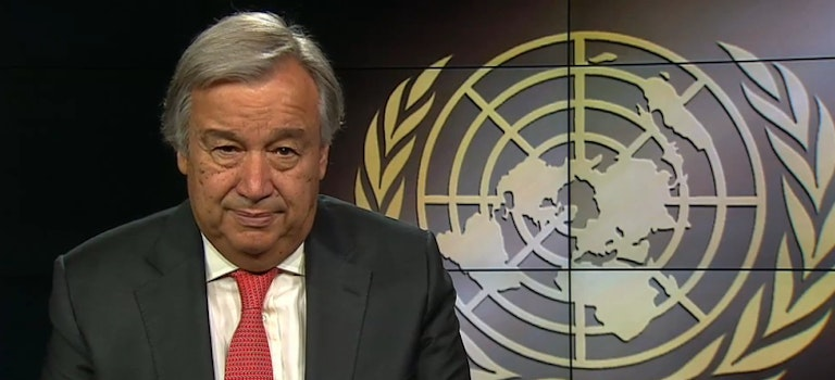The UN Secretary-General presents his Gender Parity Strategy