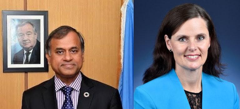 IGC Nairobi Hub Podcasts: Siddharth Chatterjee & Ambassador Alison Chartres